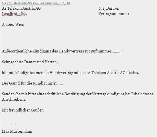Elegant Kundigung Internet 1 Amp 1 Vorlage Galerie In 2020 Vorlagen Word Handyvertrag Kundigen Vorlagen