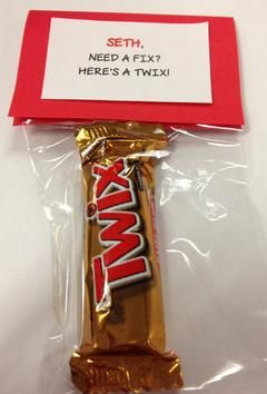Need a fix Here's a Twix.jpg | gift ideas | Pinterest ...