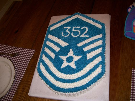 Master Sergeant Promotion cake