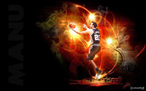 Manu Ginobili - San Antonio Spurs - deserving of the best 6th man.  New Wallpaper 2012