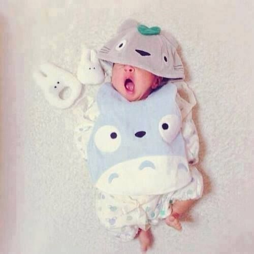 Baby Totoro New Outfits