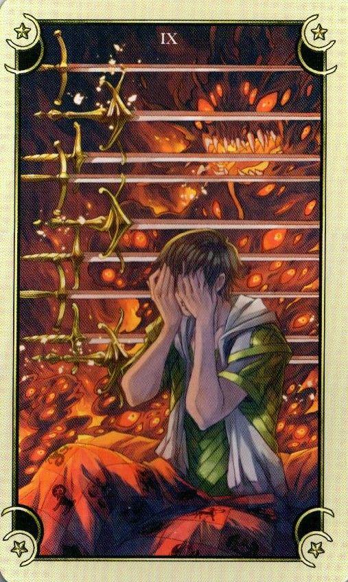 9 Мечей Таро Семи Звезд Mystical Manga Tarot | Мир Таро ...