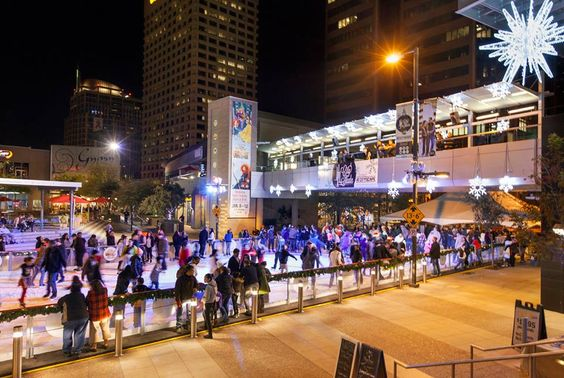 CitySkate Downtown Phoenix Holiday Ice Rink · CrowdTorch Quick