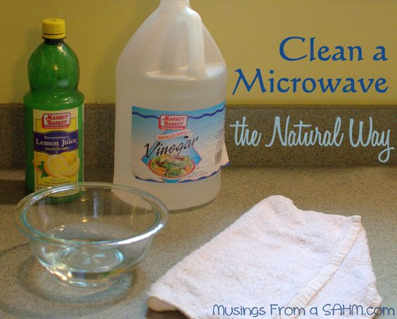 the quick easy all natural way to clean your microwave how to work the natural and. Black Bedroom Furniture Sets. Home Design Ideas