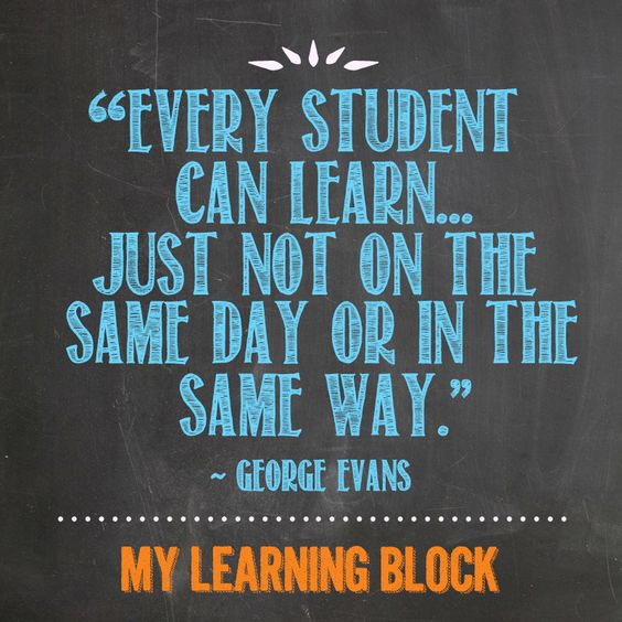 Every Student Can Learn | Ms. Dillard's Classroom