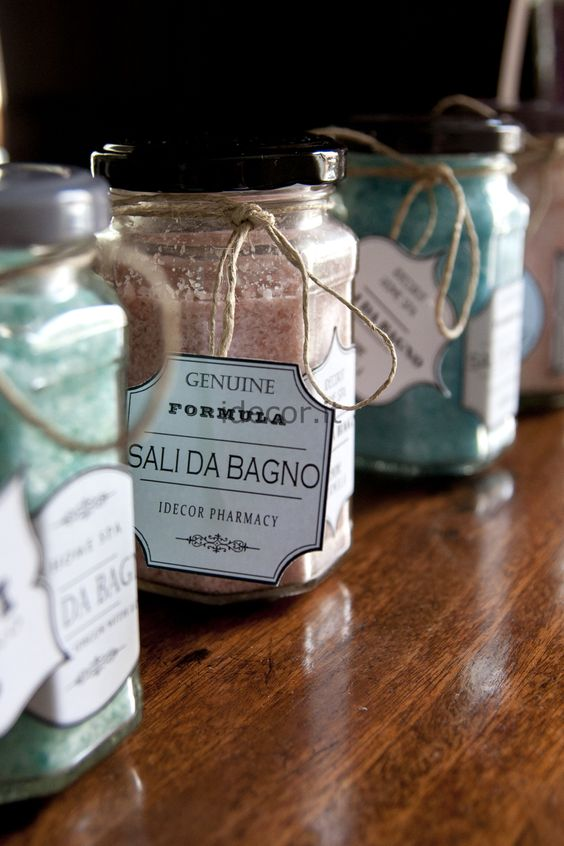17 Best images about Sali da Bagno on Pinterest | Dead sea salt ...