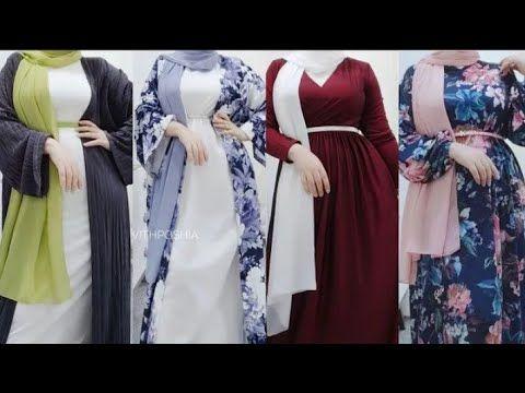 ملابس بنات محجبات صيف 2020 فساتين صيفية 2020 ملابس العيد للبنات 2020 تنسيق الألوان للمحجبات بنات ملابس بنات 20 Hijab Fashion Fashion Bridesmaid Dresses
