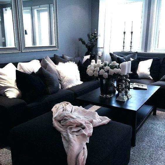 Image Result For Black White And Rose Gold Living Room Sala De
