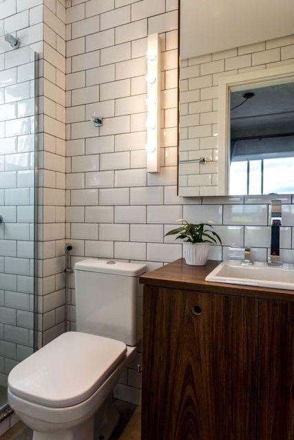 Apartamento33, o apê mais lindo da internet  Madeira, Blog e Internet -> Banheiro Decorado Com Revestimento Eliane