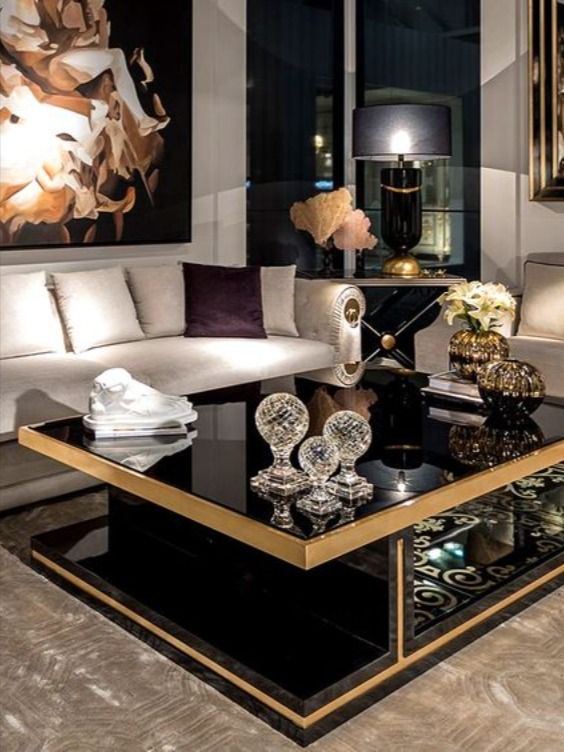 Boca Do Lobo Presents Their Newest Luxury Furniture Pieces In 2021 Center Table Living Room Elegant Living Room Decor Gold Living Room