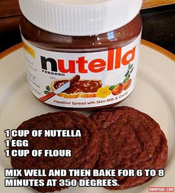 Nutella Cookies..