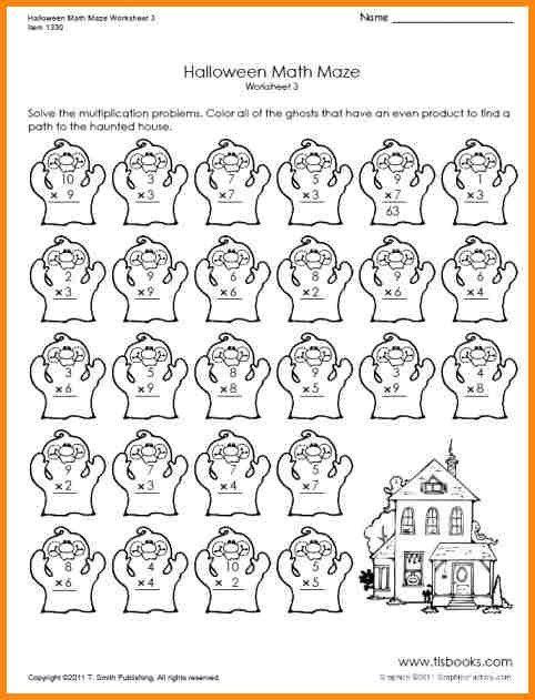 Free Middle School Halloween Math Worksheets Halloween Math Worksheets Halloween Worksheets Halloween Math Free halloween math worksheets first
