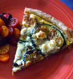 For Love of the Table: Eggplant & Goat Cheese Tart