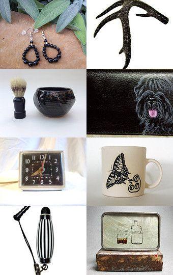 Basic Black by Glenda Stevens on Etsy--Pinned with TreasuryPin.com