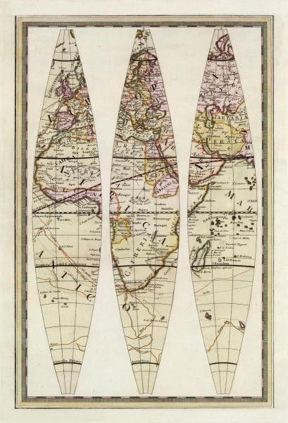 Globo Terrestre Iv, 1792 by Giovanni Maria Cassini