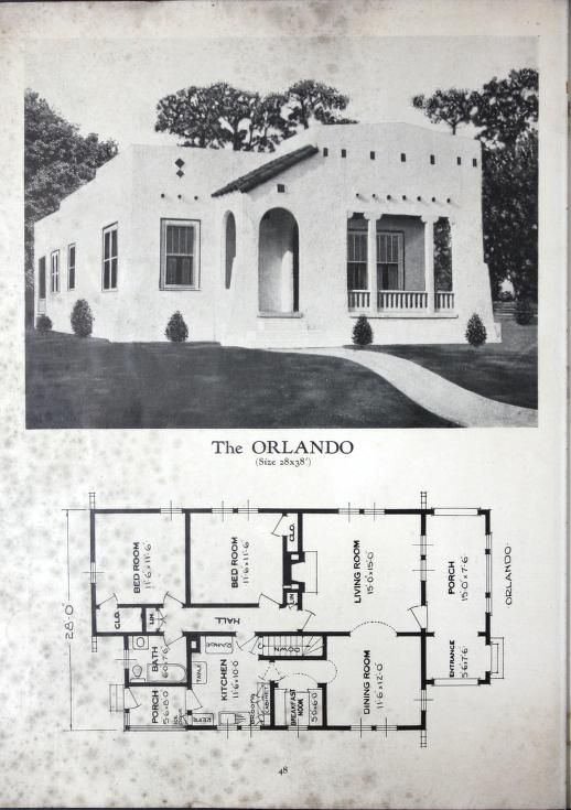 Homes Of Brick And Stucco Standard Homes Company Free Download Borrow And Streaming Internet Archive Spanish Style Homes Spanish Style Vintage House Plans
