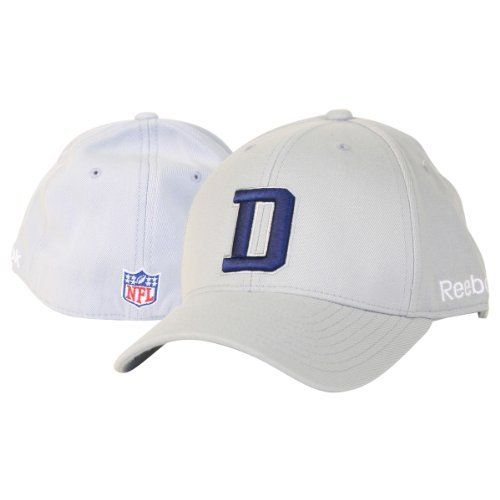 "Dallas Cowboys Sideline ""D"" NFL Flex Fit Hat - Grey by Reebok. Save 52 Off!. $11.98. Look like the players on the sideline with this embroidered big D flex fit hat. You get the look of a fitted hat with stretch comfort. Makes a great gift"