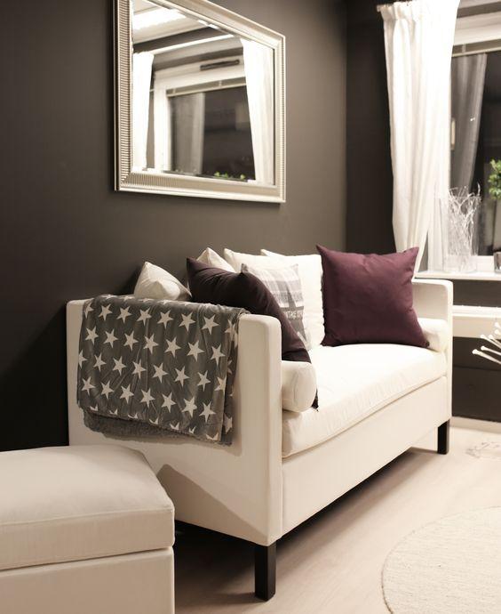 Hvit Chill sofa fra www.krogh-design.no/shop