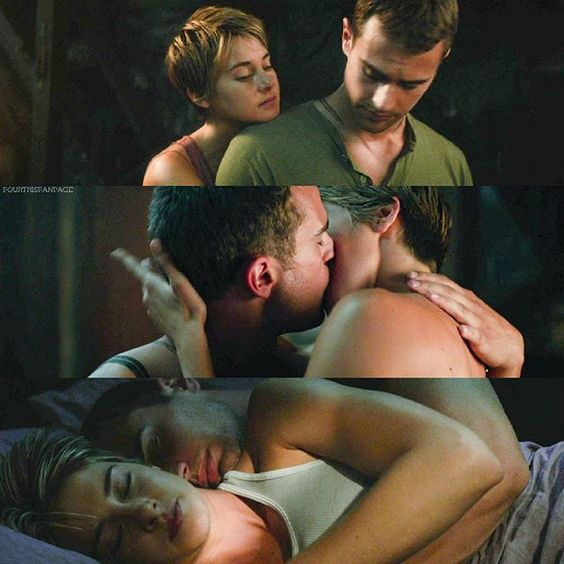 I'm so easy to fan girl with and any of you would like to fan girl with me you may send me an message! I'm so excited for Allegiant and the romance and all the kissing scenes #FourTris!