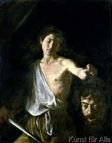 Michelangelo Merisi Caravaggio - David with the Head of Goliath, 1606