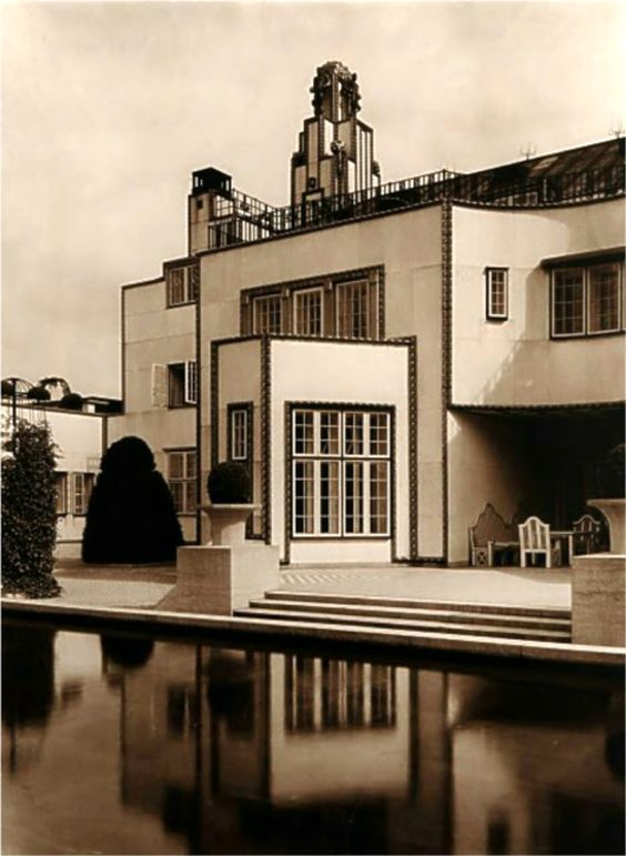 palais stoclet bruxelles 1905 by josef hoffmann and the