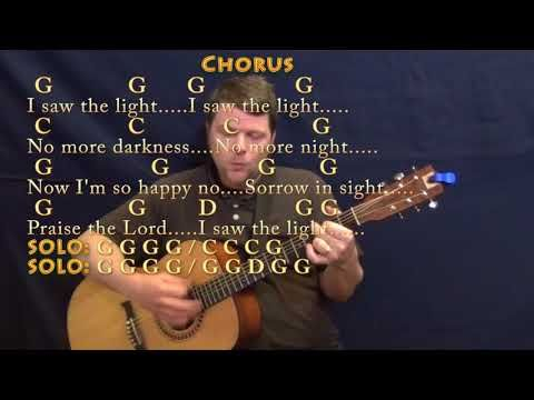 I Saw The Light Hank Williams Guitar Cover Lesson With Chords Lyrics Country Feel Youtube In 2020 I Saw The Light Hank Williams Lyrics