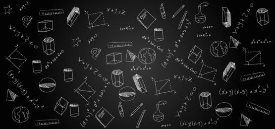 Background For School With Chalk Drawings On Black Chalkboard In 2021 Chalk Drawings Doodle Background Drawing School
