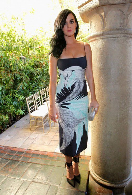 Katy Perry at the CFDA/Vogue Fashion Fund Event.