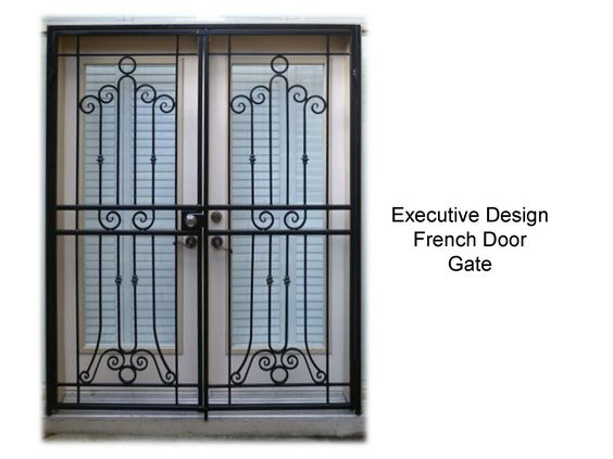 Page 30 french door patio gate for Security doors for french doors
