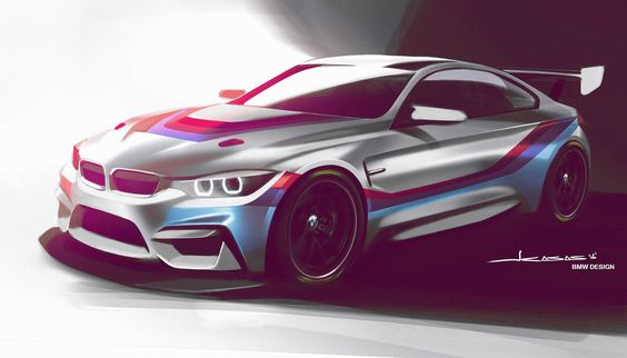 BMW M4 GT4 racing car arriving in 2018 - http://www.bmwblog.com/2016/07/28/bmw-m4-gt4-racing-car-arriving-2018/