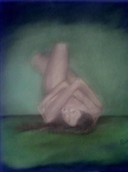 Painel óleo sobre tela, 30x40, ideal para quarto de casal. R$220,00