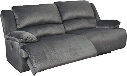 New Signature Design Ashley Clonmel 2 Seat Reclining Power Sofa Charcoal Online Shopping In 2020 Power Reclining Sofa Reclining Sofa Seater Sofa