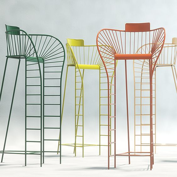 Stéphanie Langard : Chaise d'arbitre - ArchiDesignClub by MUUUZ - Architecture & Design