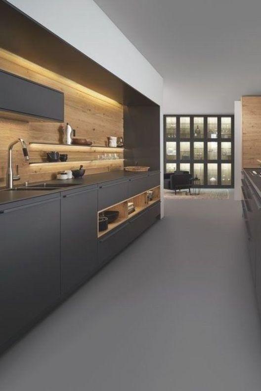 Best Modern Kitchen Cabinets Design Decoration Ideas 07 Modern Kitchen Cabinet Design Kitchen Cabinet Design Kitchen Design Trends
