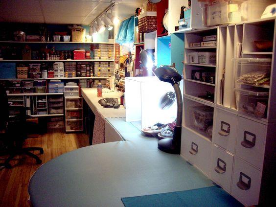 escritório - estante lateral