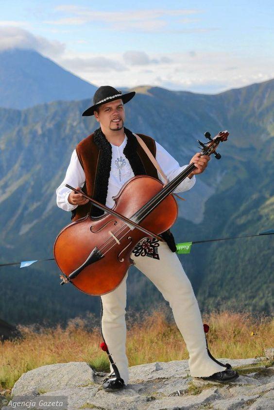 Traditional Polish Highlander Musician