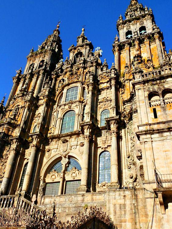 Catedral de Santiago de Compostela. Peregrinación 2012 #caminodesantiago