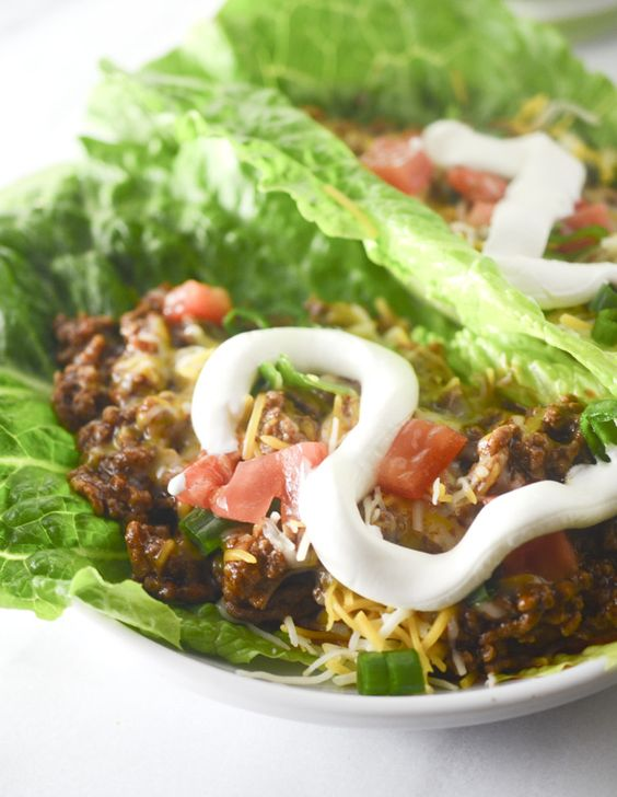 Weight Watchers SmartPoints=8: Low Carb Enchilada Lettuce Wraps – Recipe Diaries:
