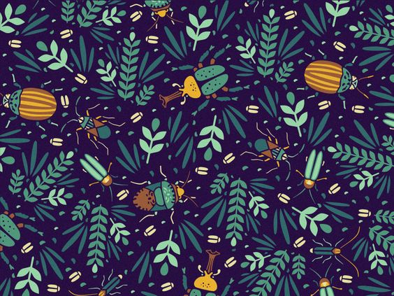 Pattern Retouched by Szende Brassai / Adline on Dribbble: https://dribbble.com/shots/1666620-Pattern-Retouched