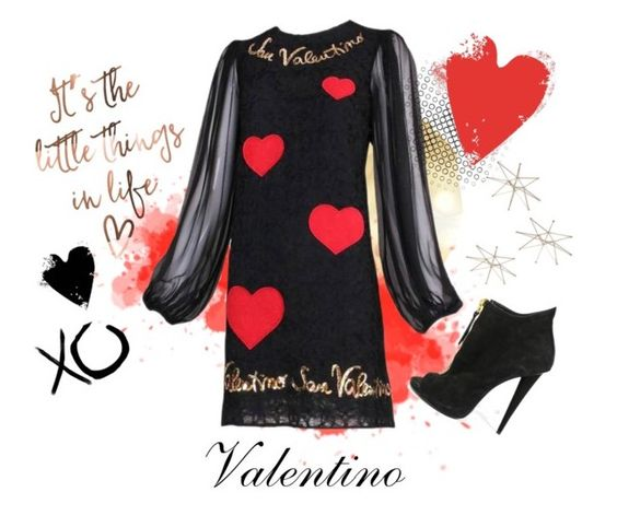 """""""So in Love❣️"""" by donnamc1 ❤ liked on Polyvore featuring Dolce&Gabbana, Giuseppe Zanotti, xO Design, Aime and Uttermost"""