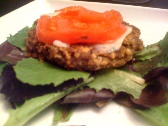 Gluten free black bean quinoa burger yumm pinterest burgers