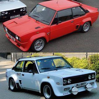 Fiat Mirafiori 131 Sport 1978 1981 Which Looks The Cooler Red