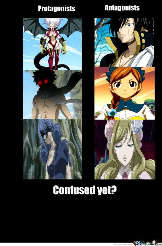 Fairy Tail meme: five types of magic → God Slayer Magic (4/5) But even if it has the power to kill a dragon, it cannot kill a god. Description from pinterest.com. I searched for this on bing.com/images