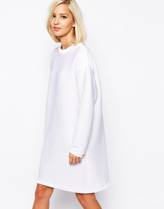 So in love with this jumper dress id wear it with my pointy pair of black boots