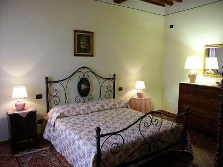 Holiday Home Il Balestruccio in S. Giuliano Terme - Pisa (Tuscany): douple bedroom