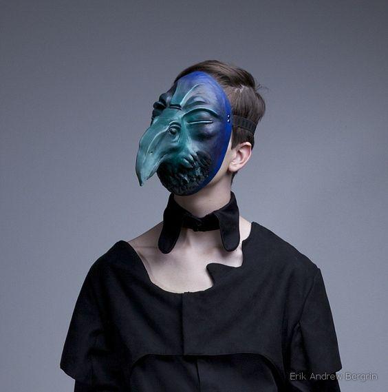 Erik Bergrin - Neoprene Bird Mask