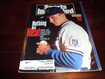 1993 Sports Illustrated - Kansas City Royals - David Cone - MLB World Series
