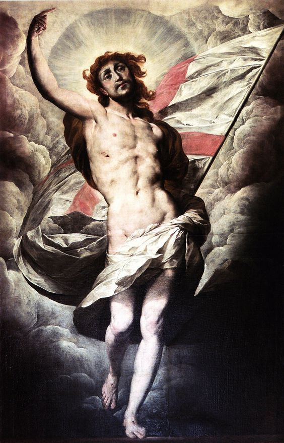 Giovanni Battista Crespi (Il Cerano), The Risen Christ, c. 1602-4: