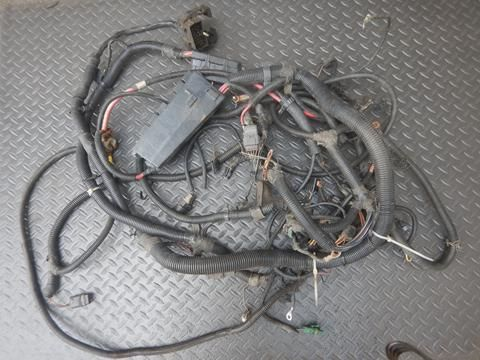 92 95 Wrangler Yj 4 0 6cyl Engine Wire Harness Best Deals On Used Jeep Parts Deadjeep Com Wrangler Used Jeep Harness