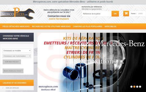 Mercopièces : le spécialiste des pièces Mercedes Benz. #Auto_Moto_Transport